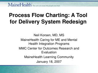 Procedure Flow Charting: A Tool for Delivery System Redesign