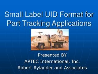Little Label UID Format for Part Tracking Applications