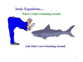 Ionic Equations....