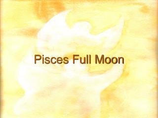 Pisces Full Moon