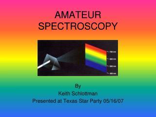 Lawn SPECTROSCOPY