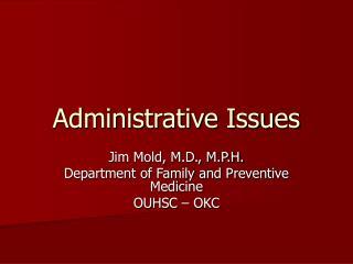 Authoritative Issues