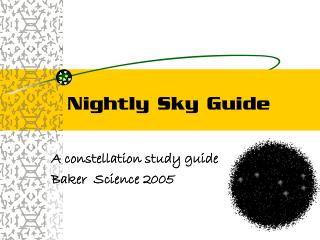 Daily Sky Guide