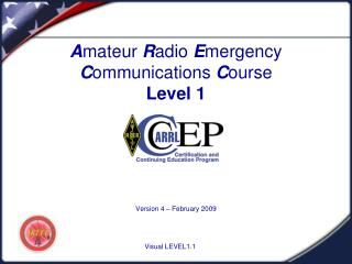 Beginner Radio Emergency Communications Course Level 1