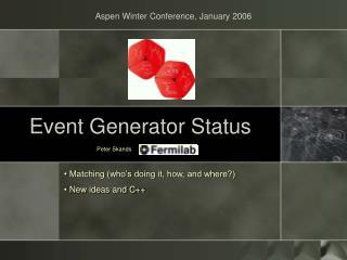Occasion Generator Status