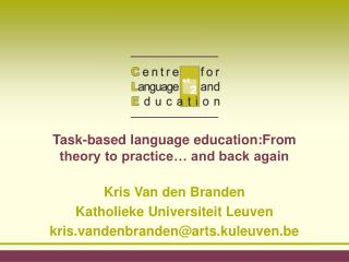 Assignment based dialect education:From hypothesis to hone and back once more