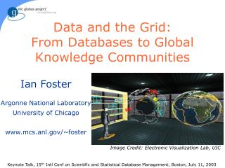 Information and the Grid: From Databases to Global Knowledge Communities