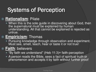 Religious philosophy Proper: Doctrine about God