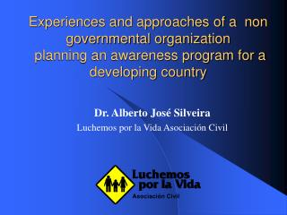 Encounters and methodologies of a non administrative association ...