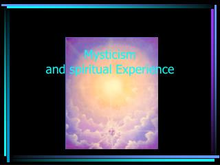 Mystery and profound Experience