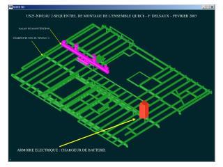 US25-NIVEAU 2-SEQUENTIEL DE MONTAGE DE L ENSEMBLE QURCb F. DELSAUX FEVRIER 2003