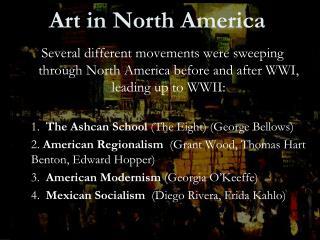 Workmanship in North America