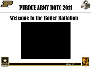PURDUE ARMY ROTC 2011