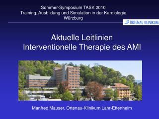 Aktuelle Leitlinien Interventionelle Therapie des AMI