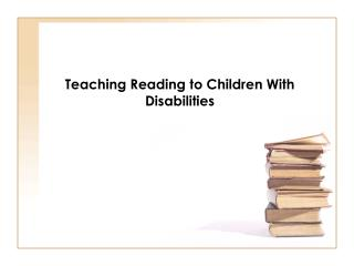 Examination Based Instruction in Reading
