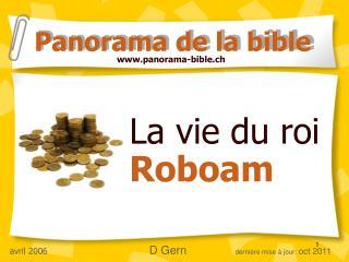 La strive du return for capital invested Roboam