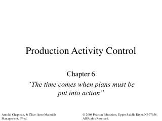 Generation Activity Control