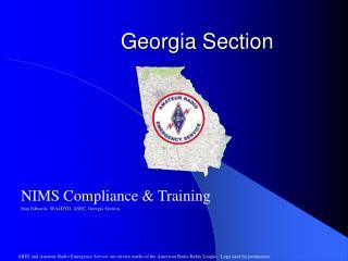 Georgia Section