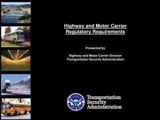 TSA Hazmat Requirements Update.pp