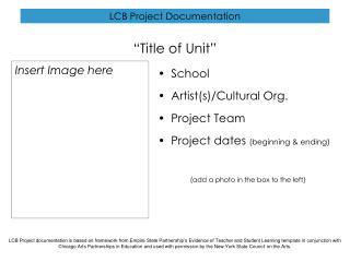 LCB Project Documentation
