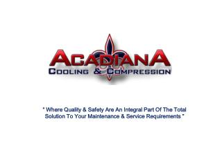 Slide 1 - Acadiana Cooling Compression