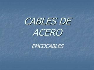Links DE ACERO