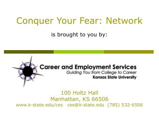 Vanquish Your Fear: Network