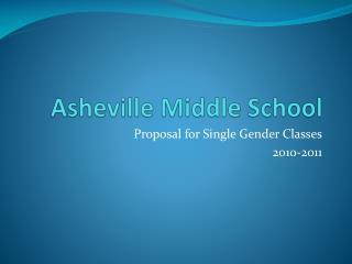 Asheville Middle School