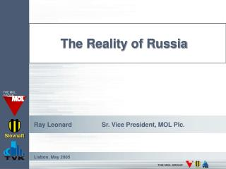 The Reality of Russia