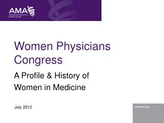 Ladies Physicians Congress