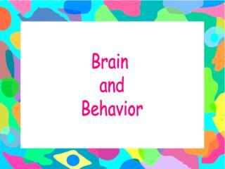 Mind and Behavior