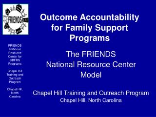 Result Accountability for Family Support Programs