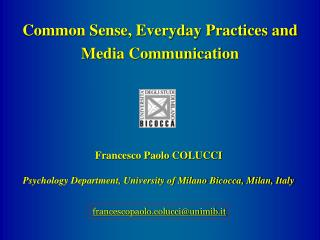 8thICSR-8colucci290806 - European Doctorate on Social ...