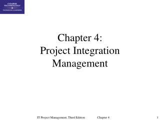 Part 4: Project Integration Management