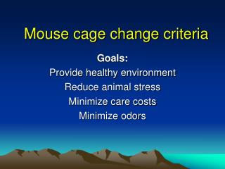 Mouse pen change criteria