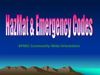 Hazardous materials Emergency Codes