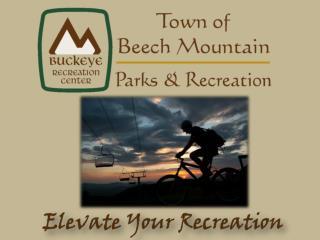 Beech Mountain Parks and Recreation Summer 2009