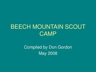 BEECH MOUNTAIN SCOUT CAMP