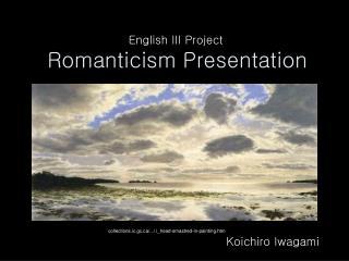 Sentimentalism Presentation