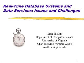 Constant Database Systems and Data Services: Issues and Challenges