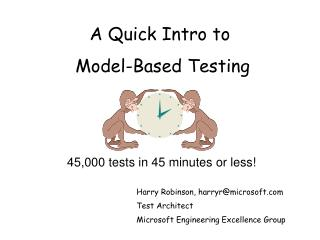 A Quick Intro to Model-Based Testing