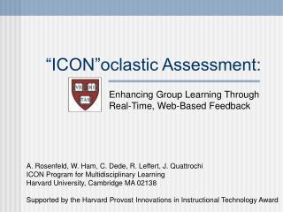 Symbol oclastic Assessment: