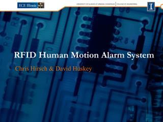 RFID Human Motion Alarm System