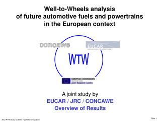 Well-to-Wheels investigation of future car powers and powertrains in the European setting