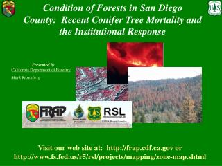 State of Forests in San Diego County: Recent Conifer Tree Mortality and the Institutional Response