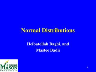 Ordinary Distributions and Standard Scores