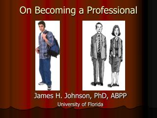 On Becoming a Professional