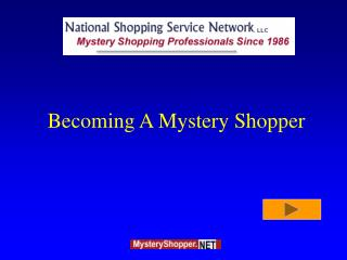 Turning into A Mystery Shopper