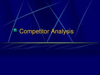 Contender Analysis
