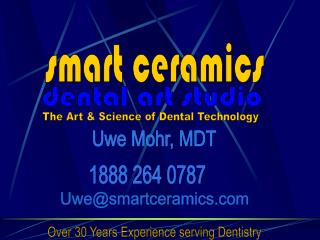 More than 30 Years Experience serving Dentistry